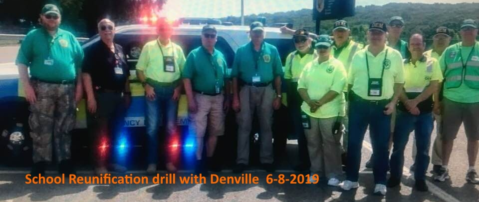 School Reunitifcation Drill with Denville